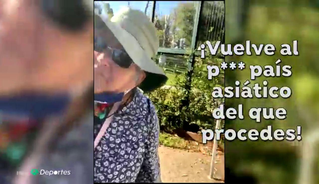 """Los insultos racistas a una deportista asiática en EEUU: """"¡Vuelve al p*** país del que procedes!"""""""