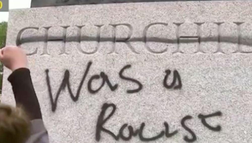 Estatua Winston Churchill
