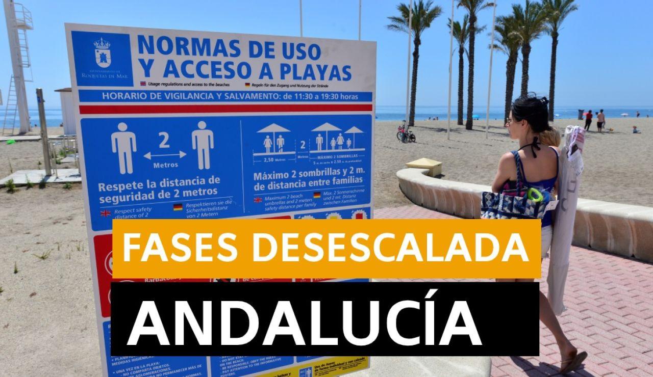 Andalucía: Fase 3 de la desescalada, datos y últimas noticias de hoy viernes 12 de junio, en directo | Última hora Andalucía