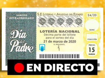 Sorteo Extraordinario del Día del Padre 2020: Resultado del sorteo de la Lotería Nacional de hoy sábado 13 de junio, en directo
