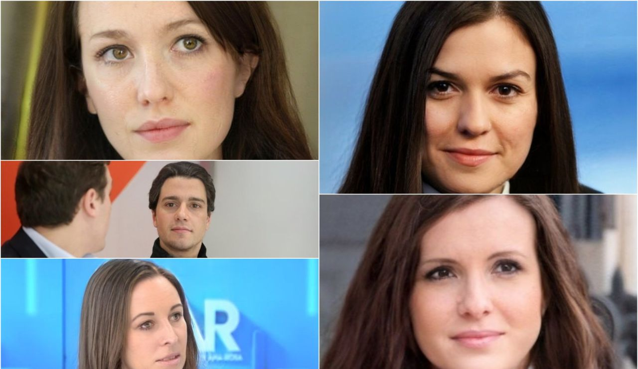 Políticos con el sexo contrario