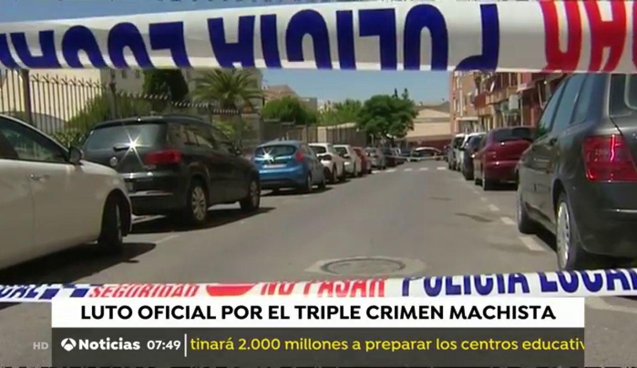 Úbeda decreta tres días de luto por el asesinato de una mujer y sus dos hijos