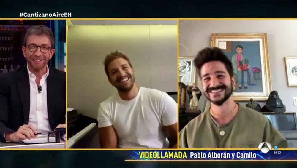 """Camilo revela la gran satisfacción de colaborar con Pablo Alborán: """"Hace 8 años estaba haciendo covers de Pablo"""""""