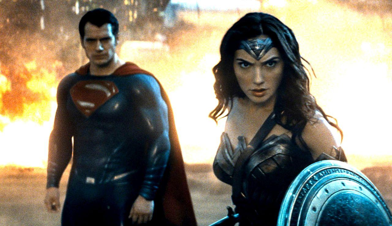 Superman y Wonder Woman en 'Liga de la Justicia'