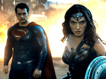 Superman y Wonder Woman en 'Liga de la Justicia'
