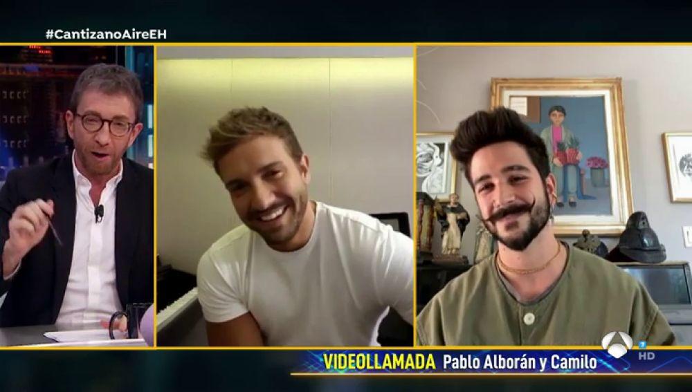 Pablo Alborán confiesa el artista que le inspiró a cantar y Pablo Motos le reta a disfrazarse de él en 'El Hormiguero 3.0'