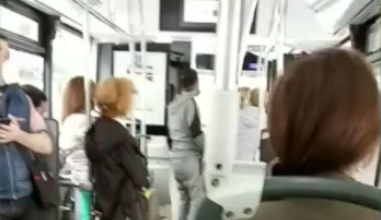 Agresión en el autobús