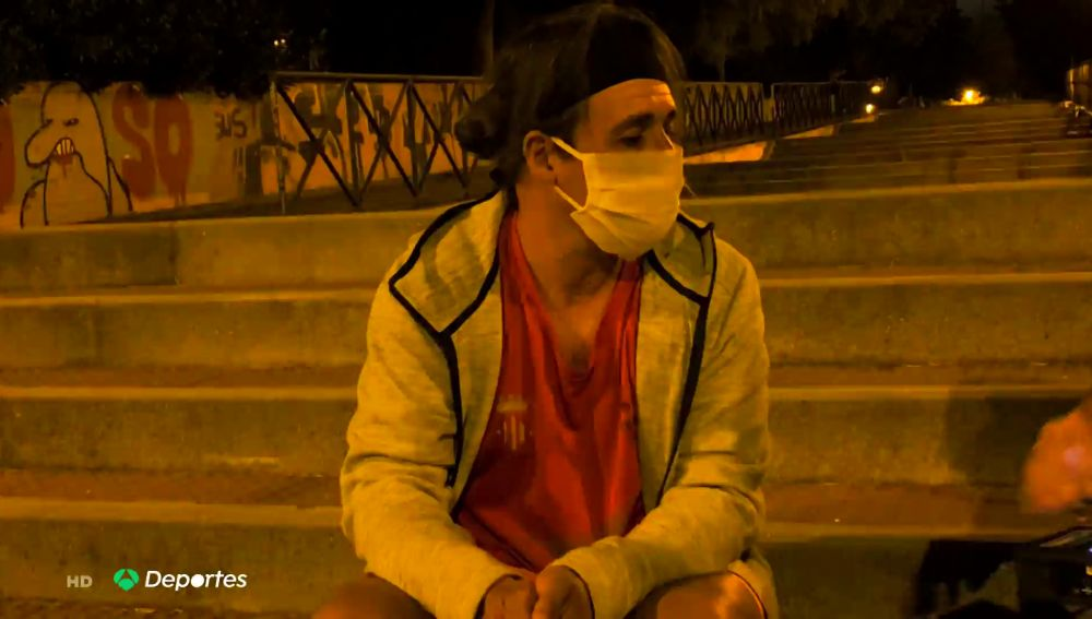 Joaquín Carmona, el experto de atletismo que vive en la indigencia