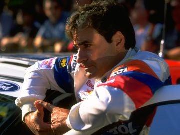 Carlos Sainz, en su época como piloto del Mundial de Rallies