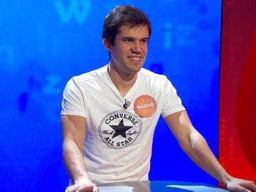 Las dudas se apoderan de Nacho al rozar el bote de 226.000 euros en 'El Rosco'