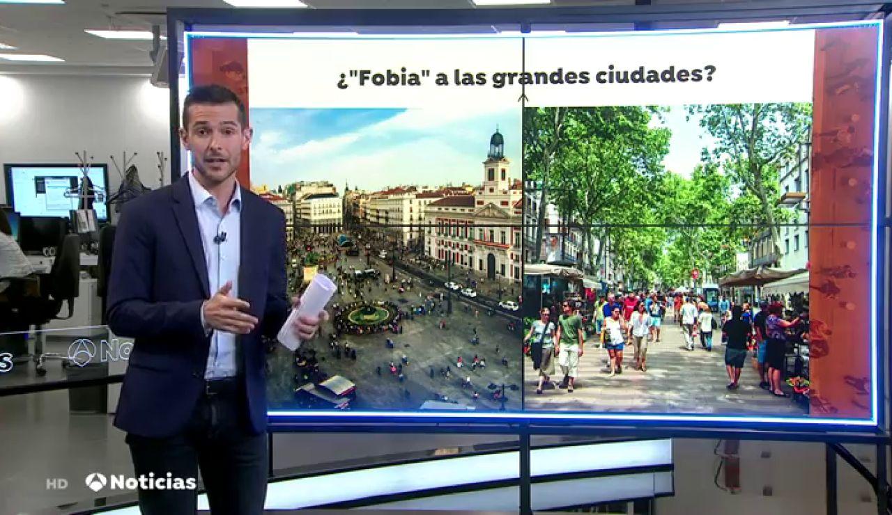 ¿Hay fobia a la llegada de ciudadanos de Madrid y Barcelona debido al coronavirus?