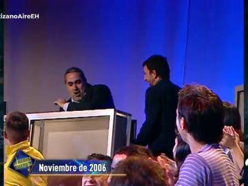 """La disputa entre Pablo Motos y Jorge Salvador por un incidente de hace 14 años: """"Me has agredido"""""""
