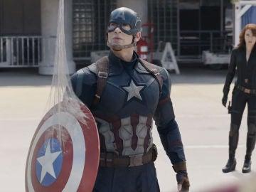 Chris Evans en 'Capitán América: Civil War'