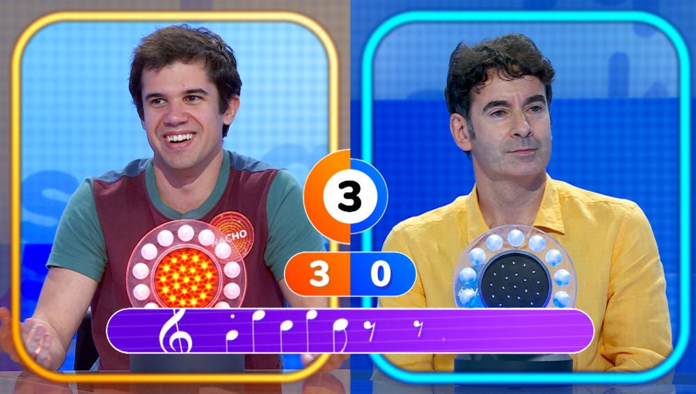 Nacho demuestra sus 'Maneras de vivir' en el primer duelo musical contra Álvaro