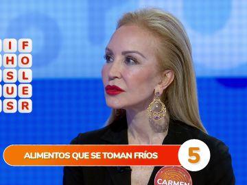 """La genial ocurrencia de Carmen Lomana desata las risas en la 'Sopa de Letras': """"¡No puedes decir eso!"""""""