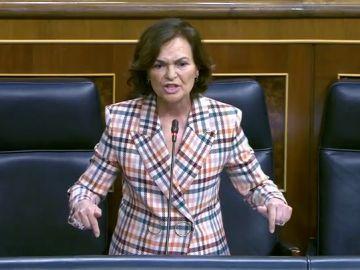 """Rifirrafe entre Cayetana Álvarez de Toledo y Carmen Calvo:""""Yo la invité a un café y me ofrece un circo"""""""