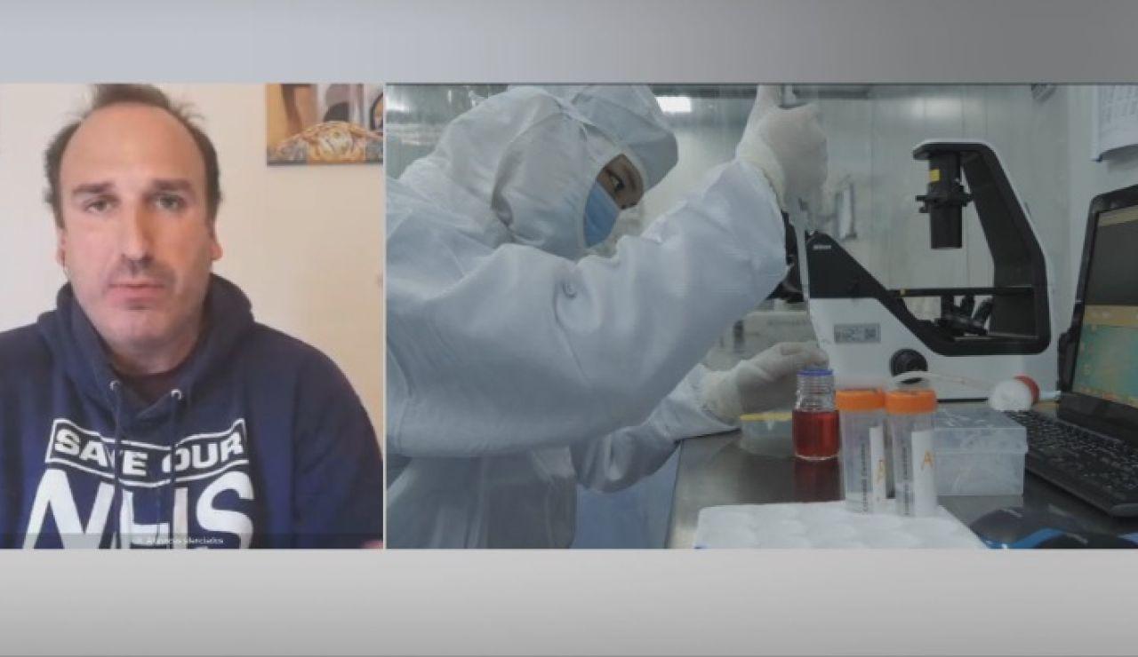 Voluntario español que prueba vacuna contra el coronavirus en Oxford