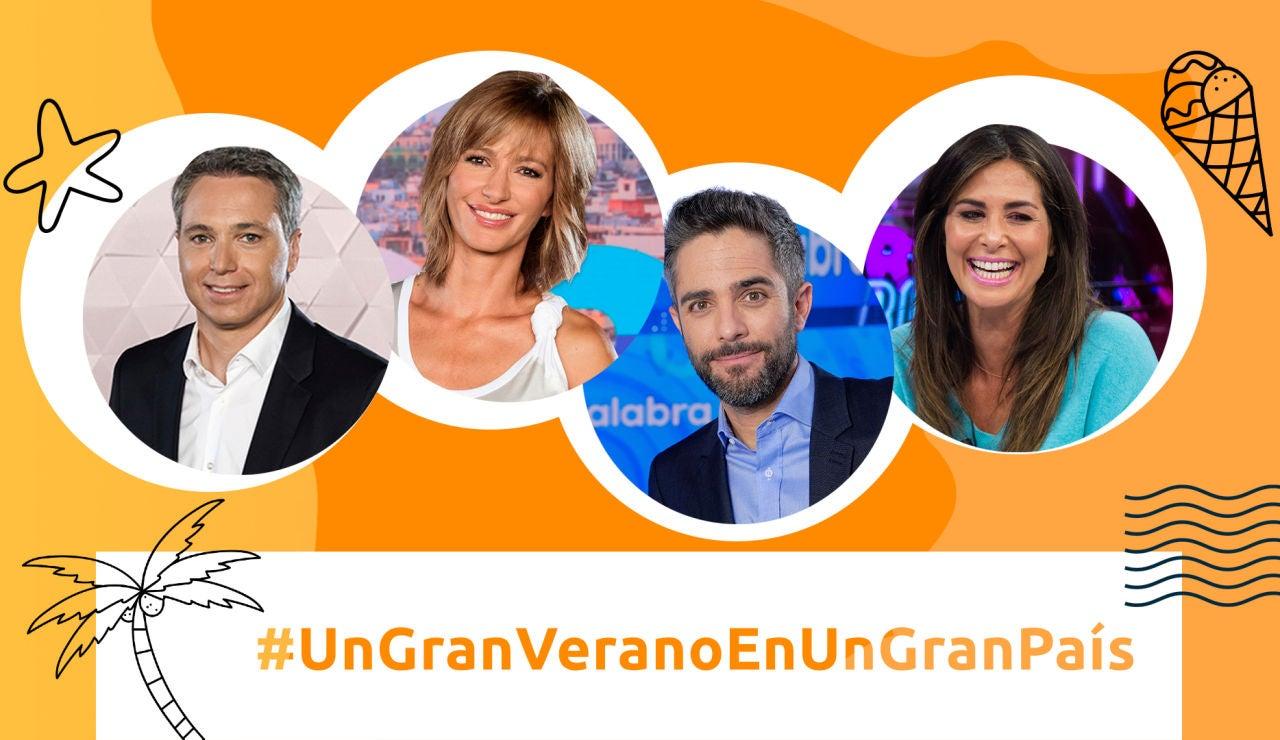Los rostros de Atresmedia te invitan a conocer algunos de los rincones más bonitos de España