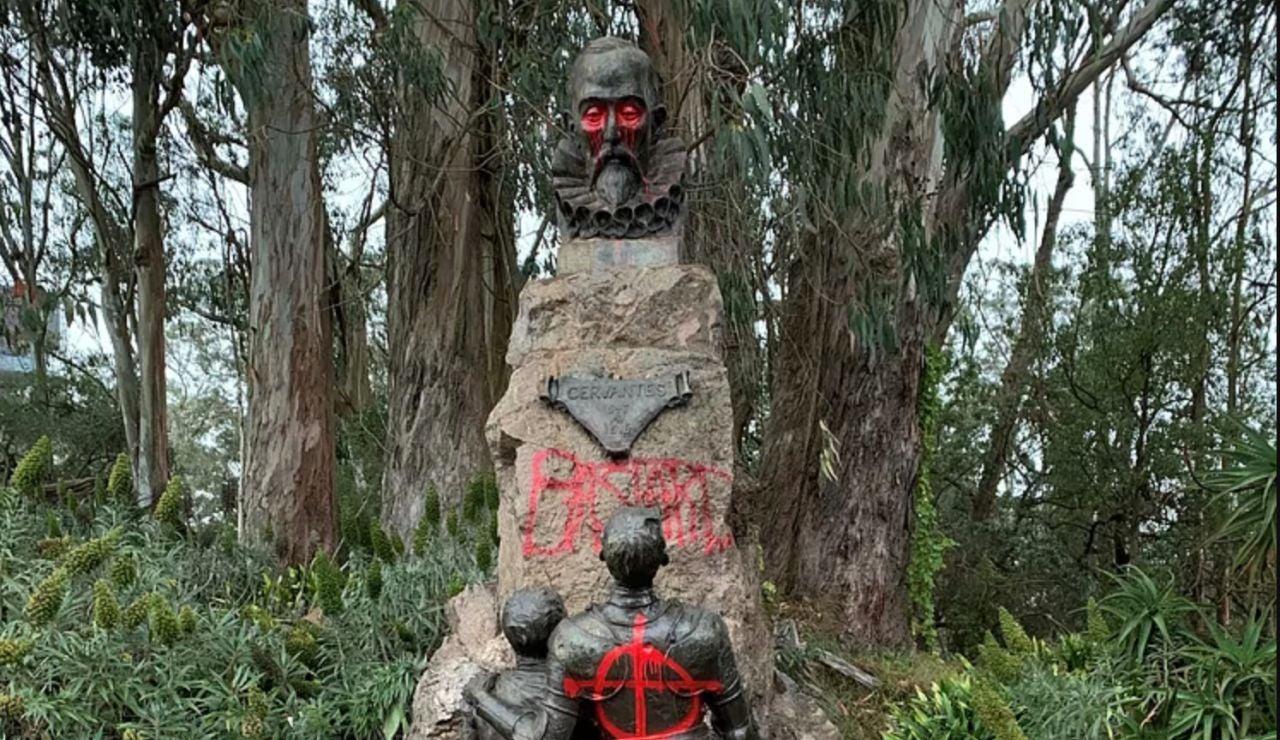 Boadilla quiere trae la estatua de Cervantes en San Francisco