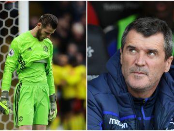"""La tremenda rajada de Roy Keane sobre David de Gea: """"Le daría de puñetazos"""""""