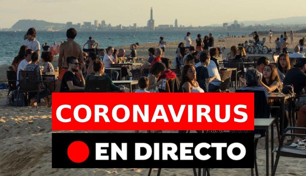 Coronavirus España: Nueva normalidad, rebrotes, muertos y última hora, en directo