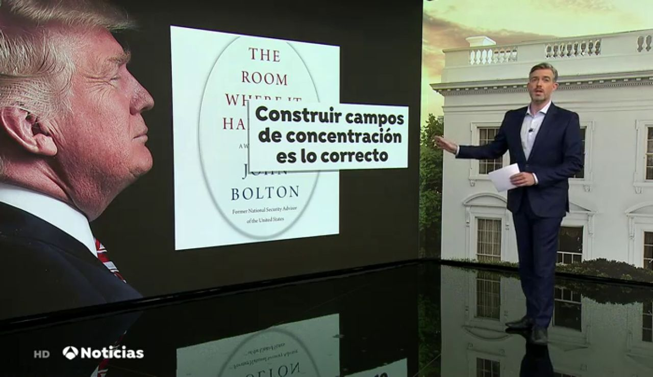 Los datos sobre Donald Trump que desvela el libro de un asesor de seguridad nacional que el presidente ha intentado censurar