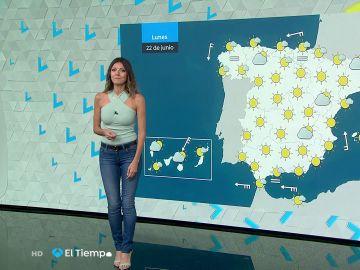 Tu Tiempo (21-06-20) Las temperaturas aumentarán de forma generalizada en todo el país