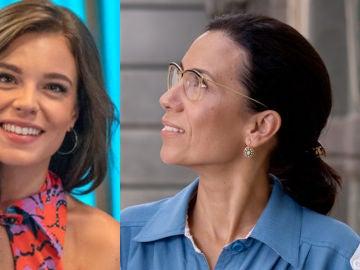 Lucía Martín Abello e Itziar Miranda, María y Manolita en 'Amar es para siempre'