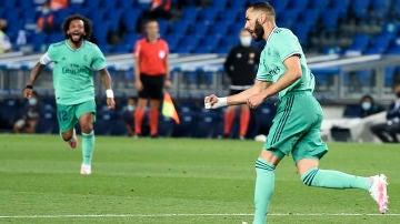 El Real Madrid derrota a la Real Sociedad en Anoeta y depende sí mismo para ganar LaLiga