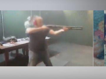 Detenido el autor de los disparos.