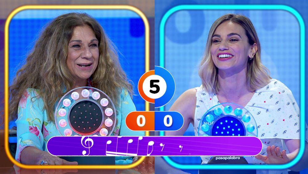 Lolita y Norma Ruiz forman un fantástico dúo cantando 'Lágrimas negras'