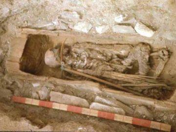 Identifican una momia de hace 2.600 años en Siberia