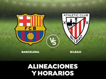 Barcelona - Athletic de Bilbao: Horario, alineaciones y dónde ver el partido de la Liga Santander en directo