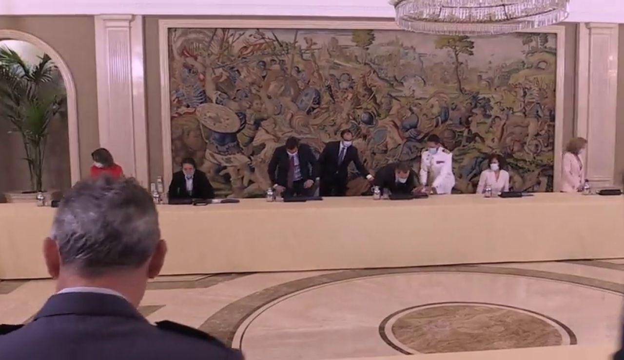 Nueva reunión del Consejo de Seguridad Nacional para revisar la situación tras el estado de alarma por el coronavirus