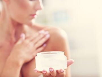 Hidratando la piel