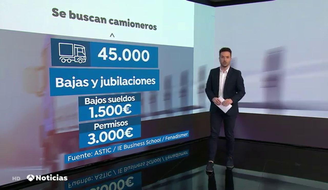 Se buscan camioneros en España