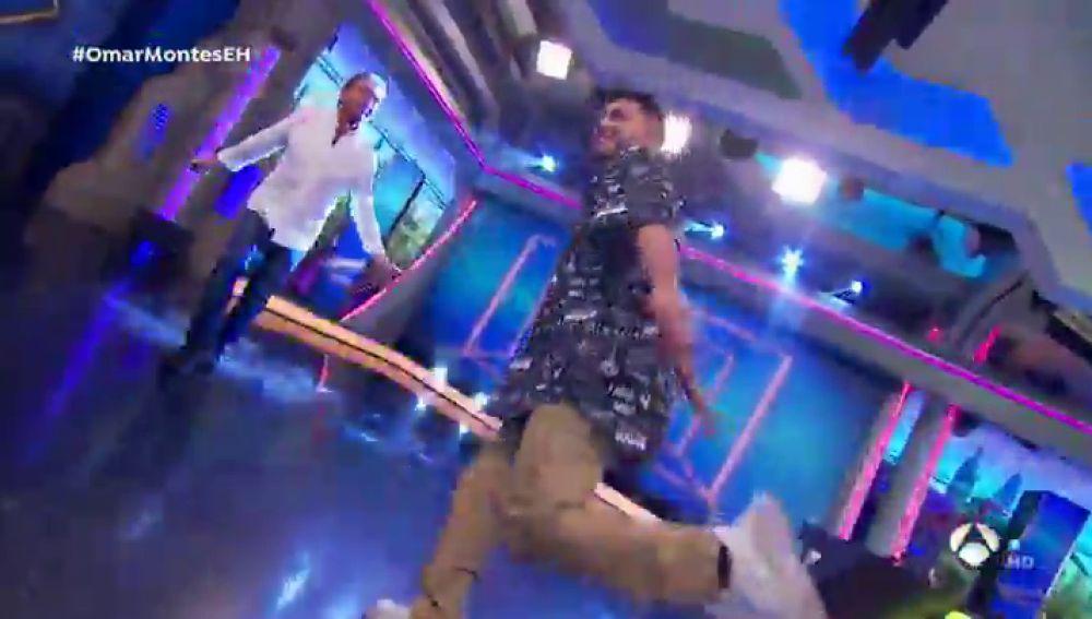 Omar Montes triunfa con su baile para la canción de Jorge Salvador