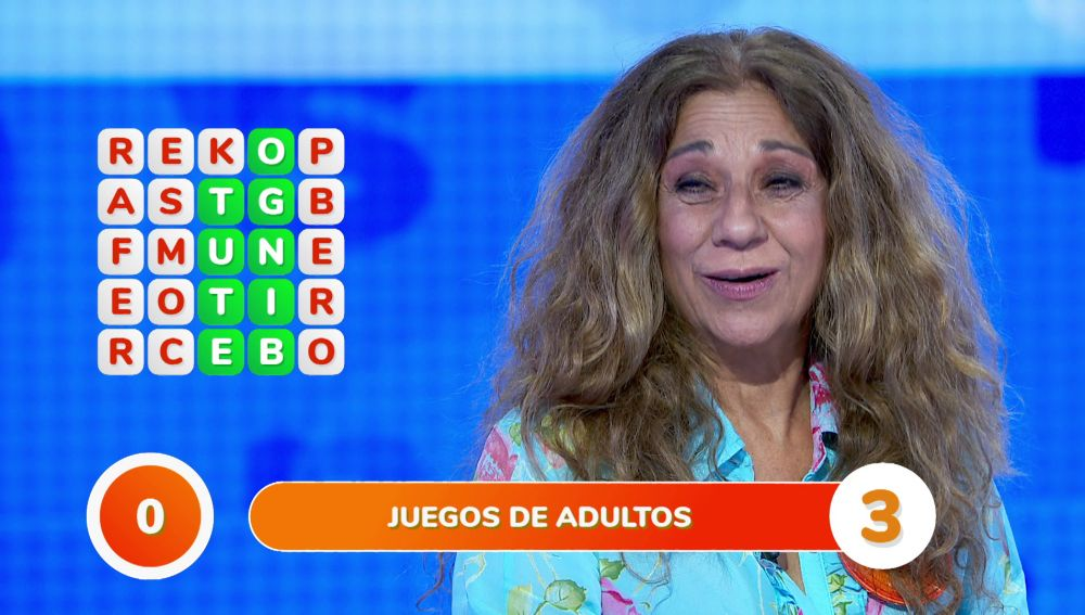 """Lolita se hace un lío con los juegos de adultos en la 'Sopa de Letras': """"¡Morbo!"""""""