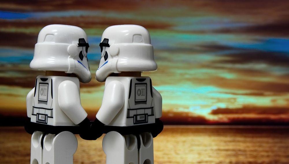 Pareja de stormtroopers
