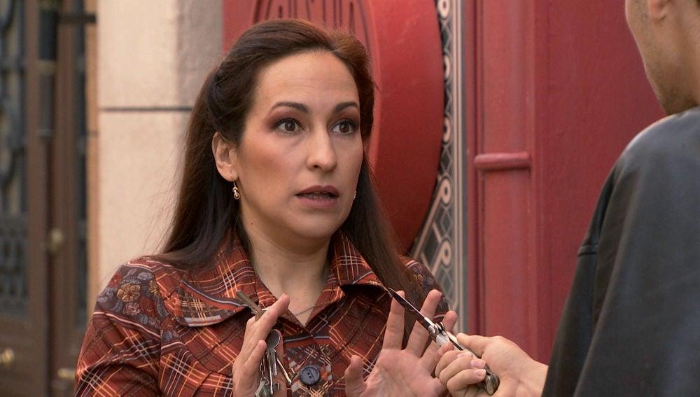 Sofía saca su lado más caritativo en un atraco a punta de navaja