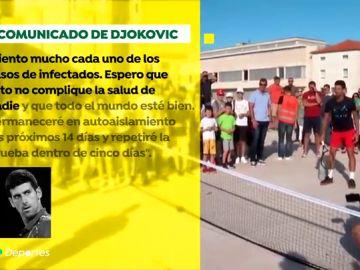 """Novak Djokovic pide perdón tras su positivo por coronavirus: """"Lo lamento mucho, nos equivocamos"""""""