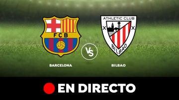 Barcelona - Athletic de Bilbao: Resultado y goles del partido de hoy, en directo | Liga Santander