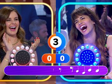 ¡Vaya popurrí! Sara Sálamo y Marta Torné protagonizan un duelo muy flamenco en 'La Pista'