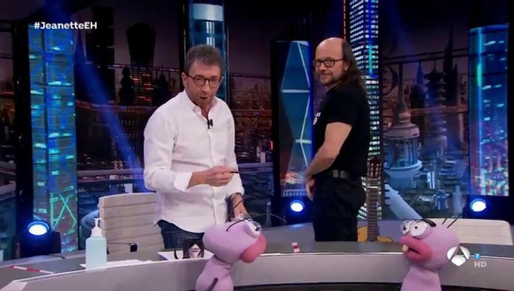"""El culo de Santiago Segura, a debate en 'El Hormiguero 3.0': """"¡No hay nada!"""""""