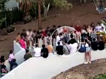 El preocupante combate de boxeo entre niños en un parque de Tenerife