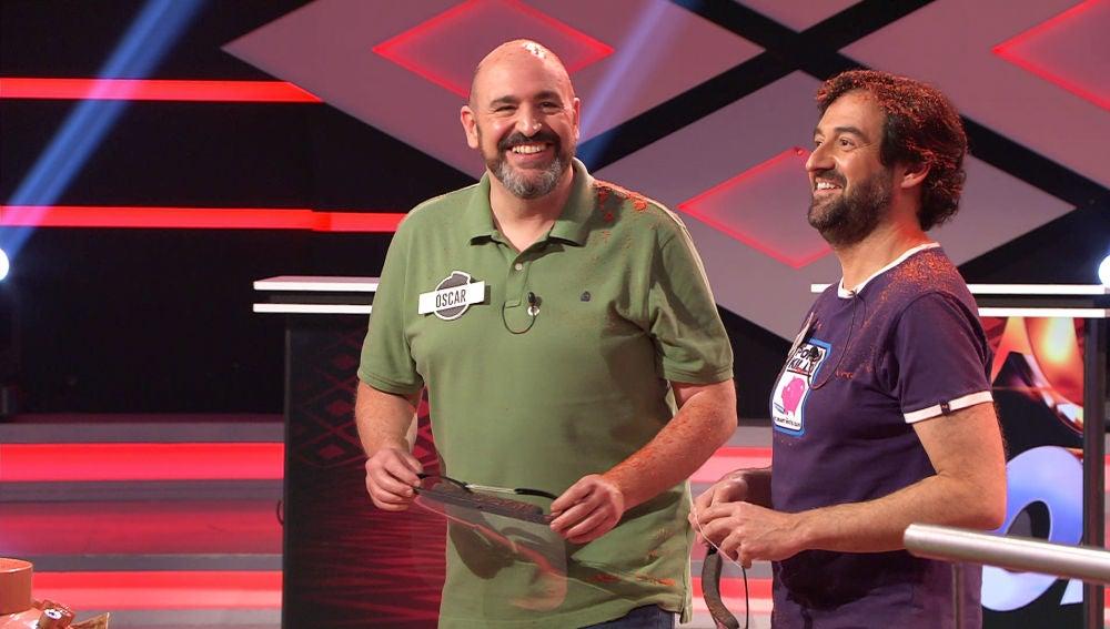 """Manolo y Óscar, de 'Los dispersos', se toman con humor su """"empanamiento"""" en la bomba final de '¡Boom!'"""