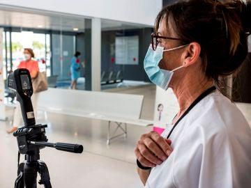 Control térmico en el Hospital Mateu Orfila de Mahón, Menorca