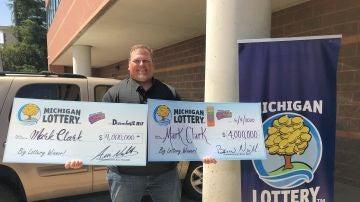 El hombre que ha ganado dos veces la Lotería