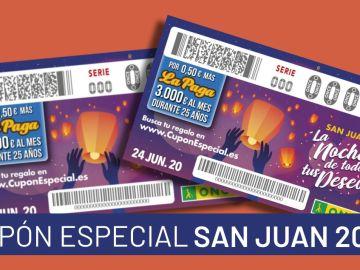 Cupón Especial San Juan ONCE 2020: Horario y premios del sorteo de hoy 24 de junio