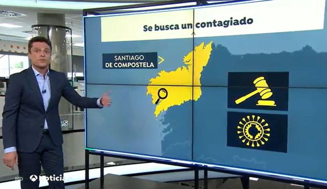 Localizado positivo Santiago de Compostela